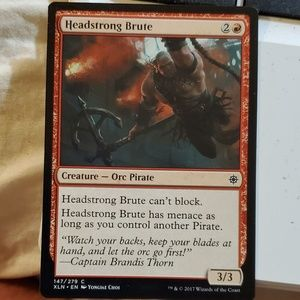 Headstrong brute magic card